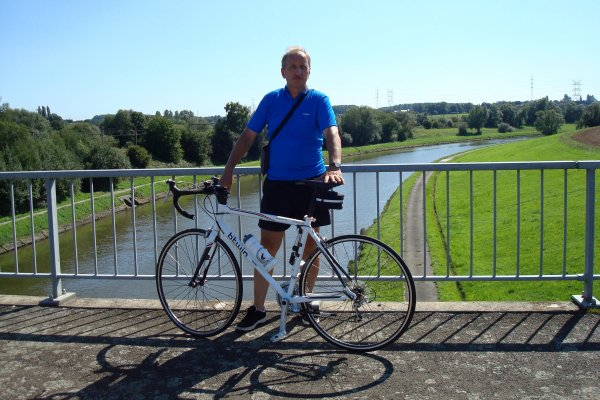 Petite balade à vélo d'une trentaine de kilomètres sous ce beau soleil...!