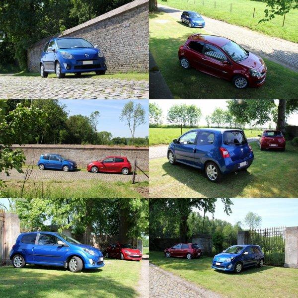Les deux Renault de la famille...!