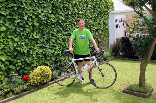 Petite ballade en vélo ce samedi en profitant du soleil...!