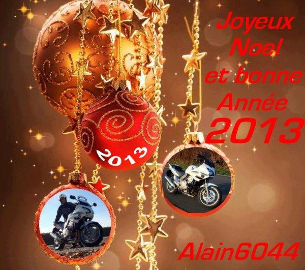 Joyeuses fêtes à vous tous, les Amis(es)...!