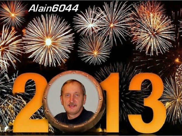 Je souhaite à tous le monde une tres bonne année 2013...!