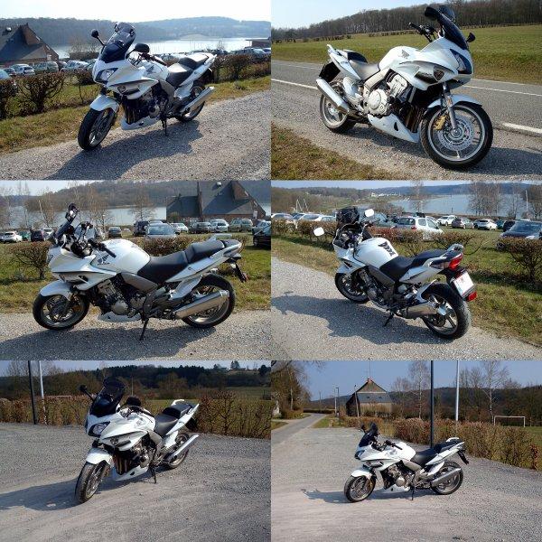Encore une superbe balade en moto sous le beau soleil de la France...!