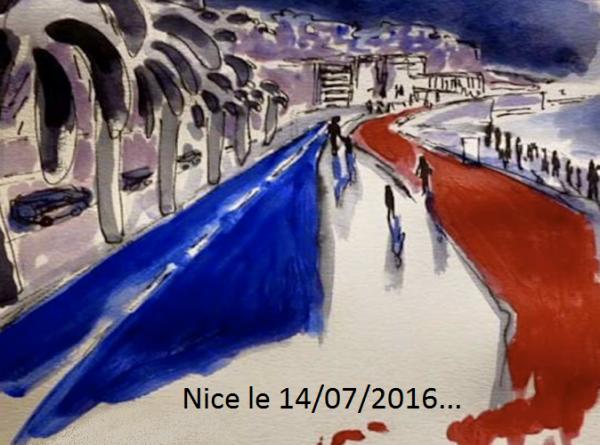 Une pensée pour tous nos Amis Français...!