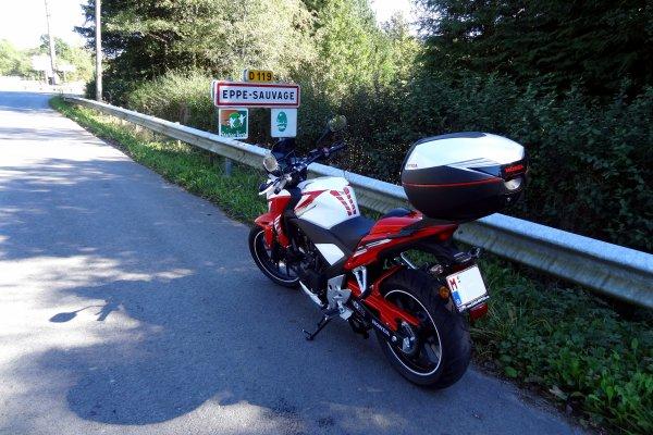 Balade sous un beau soleil en passant en France...!