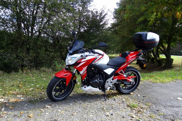 Encore une très belle promenade à moto en France en passant par Cousolre (59)...!