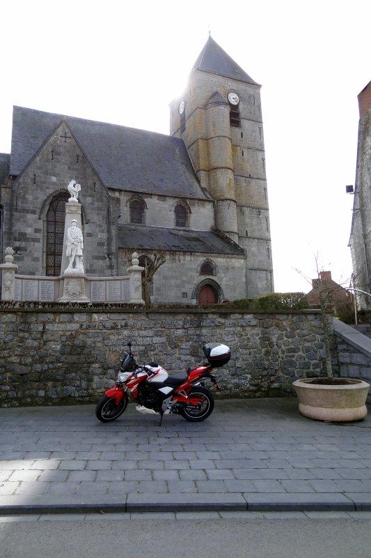 Balade tranquille le W-E dernier en passant par la France, que du bonheur sur ma bécane...!