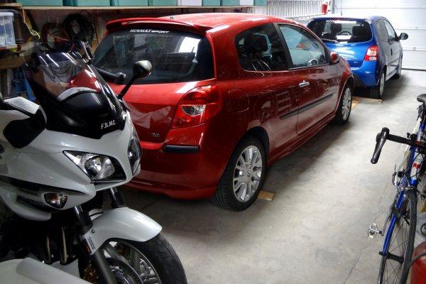 Mon petit garage....!