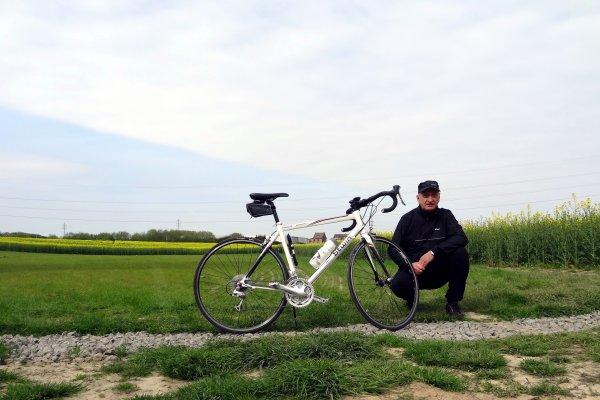 Petite balade d'une trentaine de kilomètres sous un soleil très froid....!