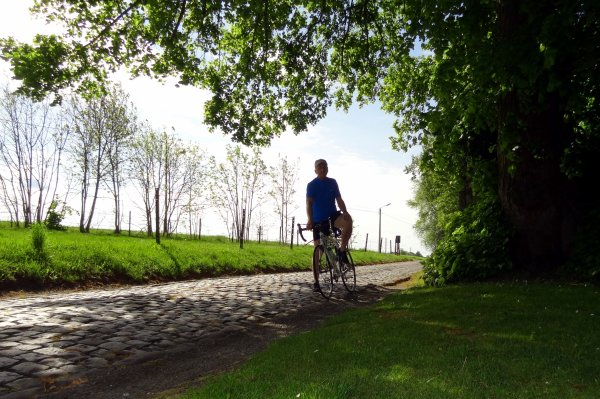 Petite escapade à vélo....pour garder la forme...!