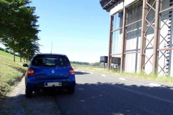 Petite balade en passant par l'ascenseur à bateaux funiculaire de Strépy-Thieu avec un super soleil....!