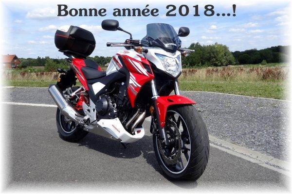 Très bonne année 2018 ...!