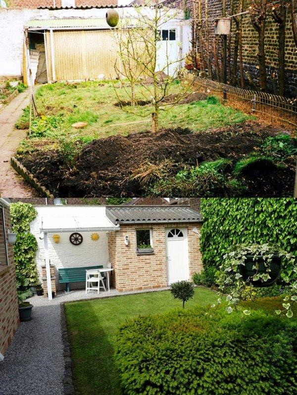 Que de changements sur une vingtaine d'années...que de mètres cubes de terres embarquées à la main....!