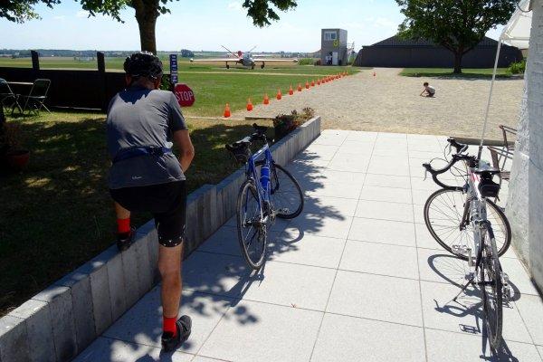 Balade vélo ce matin avec le fiston....petite quarantaine de kilomètres...!