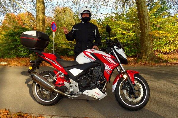 Petite balade d'automne à moto ...!