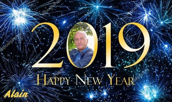 Bonne et heureuse année 2019 à toutes et tous...!