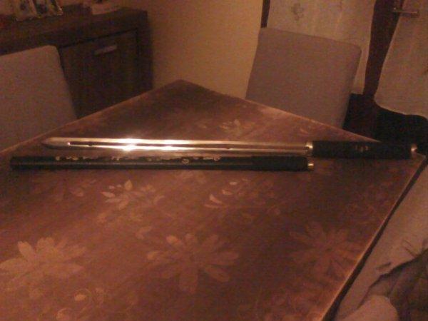 ma nouvelle épée