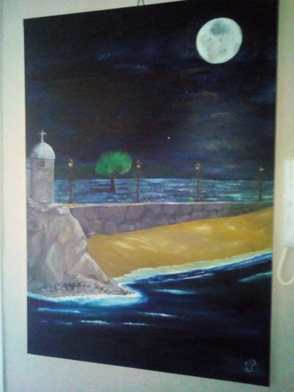 peinture à l'huile 100/70