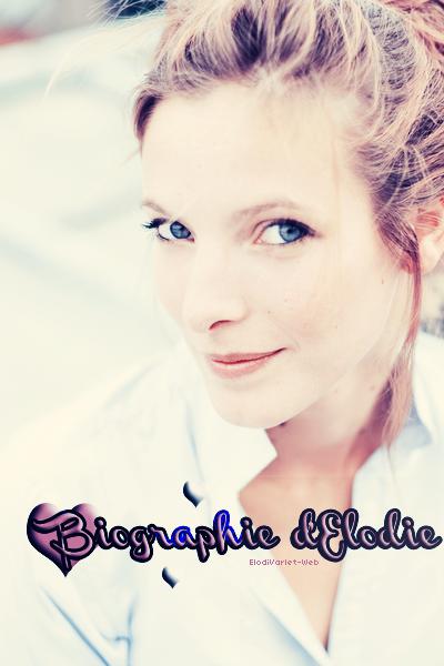 Biographie D'elodie