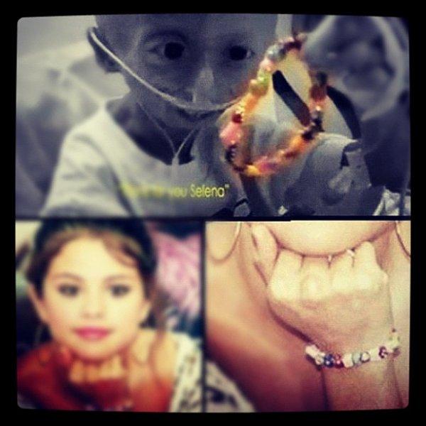 Selena Gomez : une adolescente malade la remercie à travers une vidéo émouvante