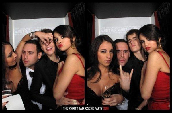 Photos : Oscars 2012 : Selena Gomez : avec sa maman pour un after beaucoup plus sage que celui de l'année dernière !