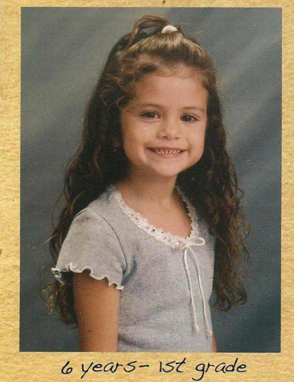 Selena Gomez : Les photos de son enfance