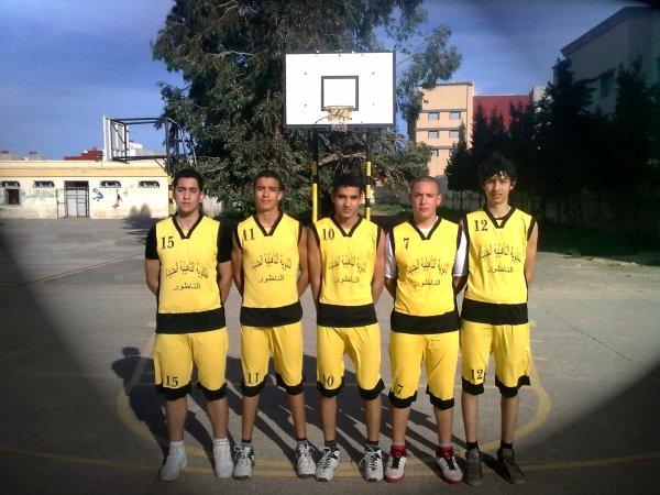 Equipe Lycéé Nador El JadidA