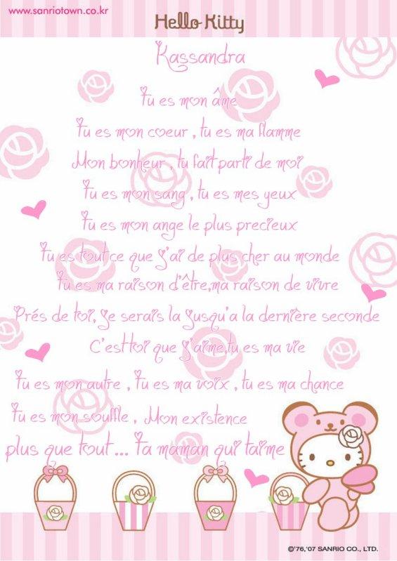 Poeme Dune Maman A Sa Fille Blog De Miss Kitty59