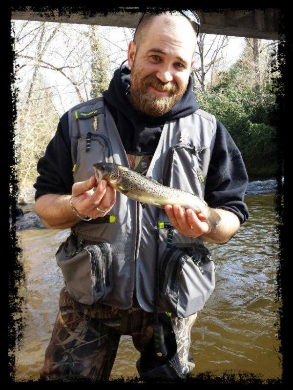 Premier poisson de l'année 2014