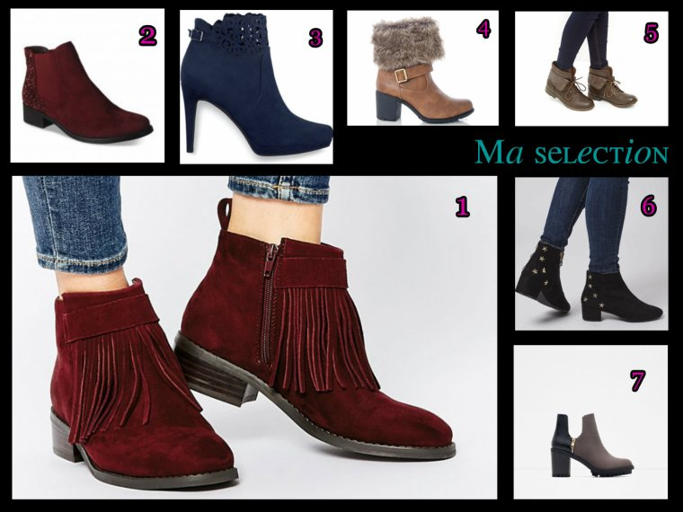 Indispensables bottines !!!