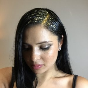 Les glitter roots pour une chevelure bling bling
