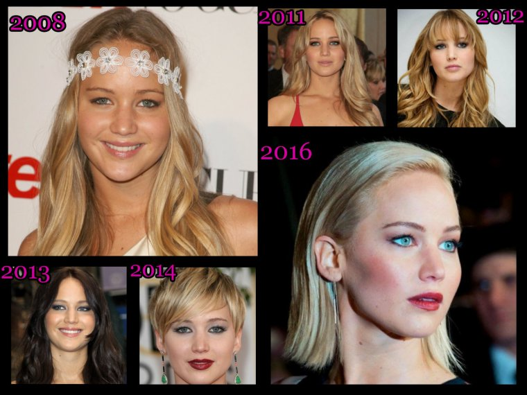 L'évolution de Jennifer Lawrence