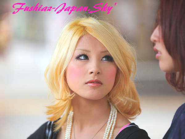 MAKE-UP  = Japanese!