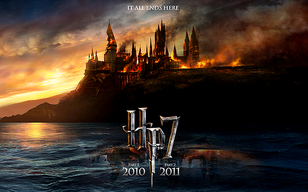 Harry Potter and the deathly hollows : Part one . ♥