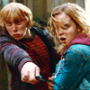 Ron & Hermione Kiss - Love theme (2011)