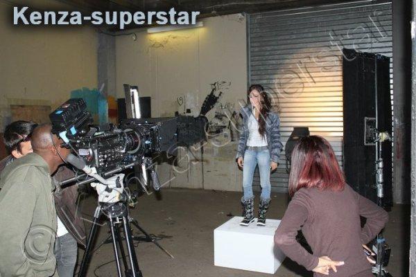 Photo du prochain clip de kenza