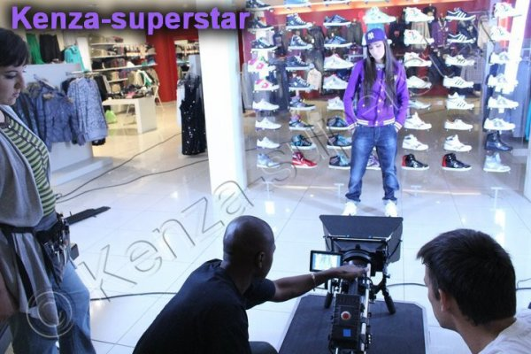 Photo du prochain clip de kenza