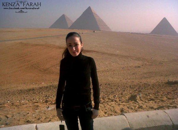 Kenza en direct live d'Egypte