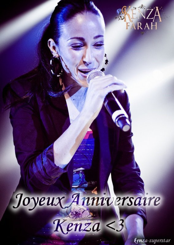 JOYEUX ANNIVERSAIRE KENZA !!!