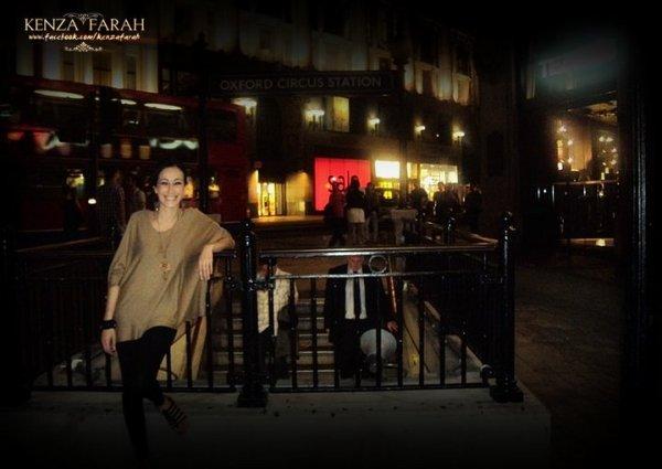 Kenza au coeur de Londres