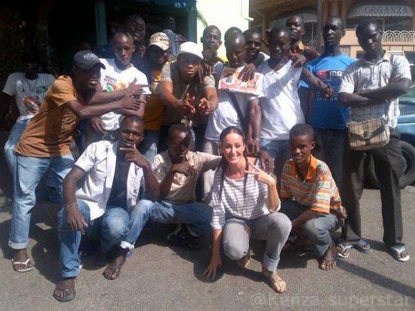 Kenza a Abidjan