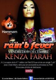Kenza en Show Case Au Hammam Café a Lille le 9 Décembre !!!