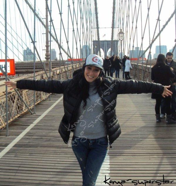 Kenza à New-York