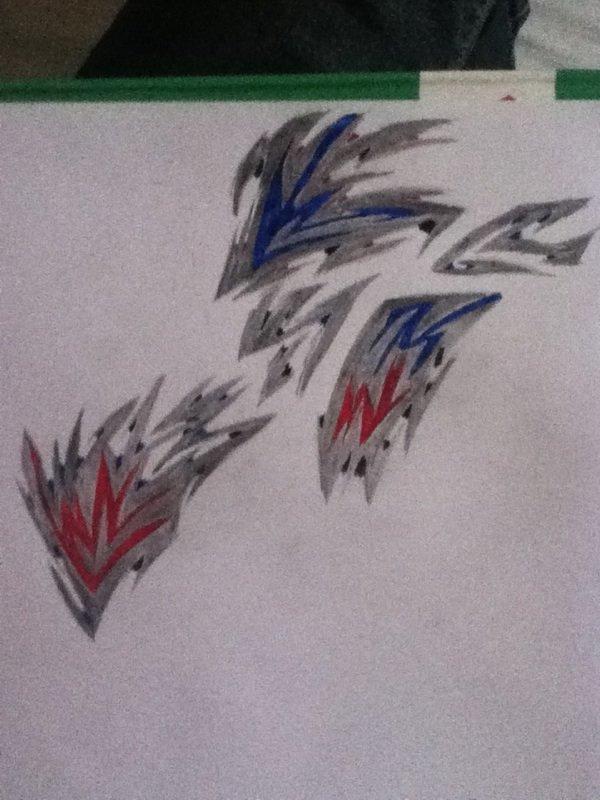 Mes dessins ou tatouages ^^