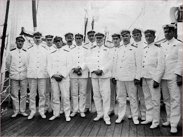 Les héros et héroïnes du Titanic.
