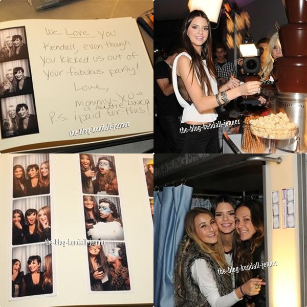 Photos de l'anniversaire de Kendall