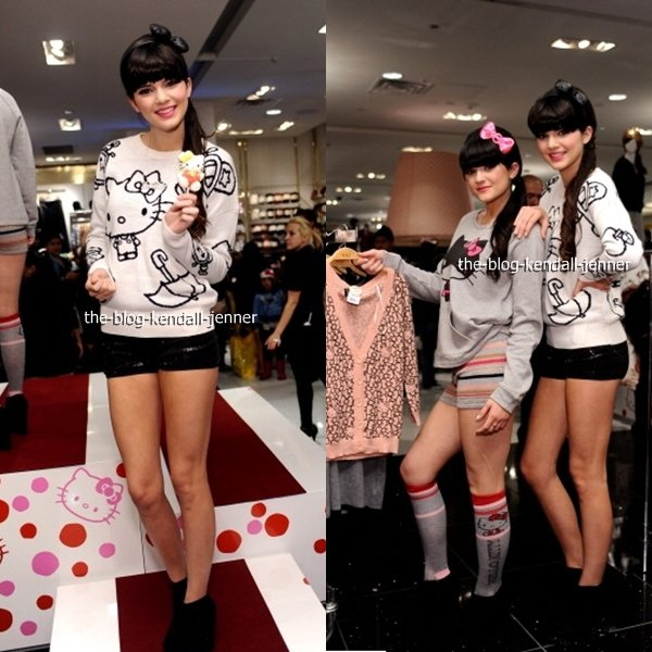 Forever 21 For Hello Kitty Collection Launch Party - le 17 Novembre