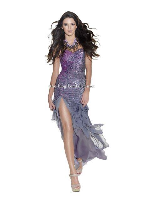 Kendall Jenner :  Couverture du magazine TeenPROM's 2012