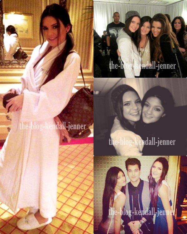 Kendall a las vegas