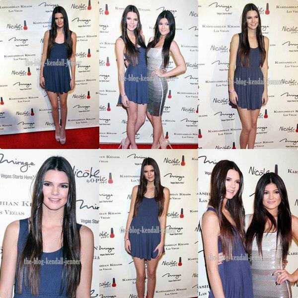 la famille Kardashian/Jenner  ouvrent Kardashian Khaos à Sin City