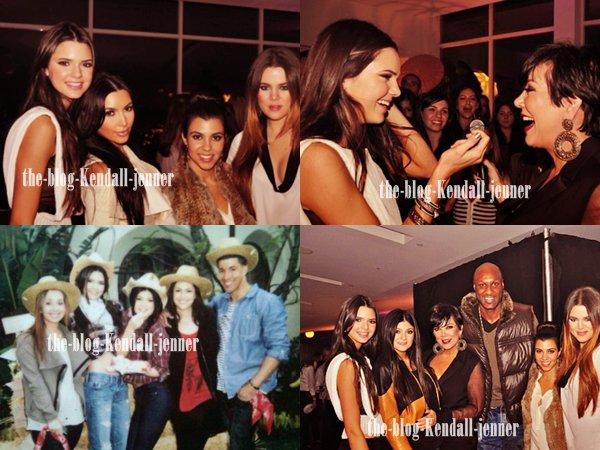 Nouveautés dantant de l'anniversaire de Kendall + une photo exclu !